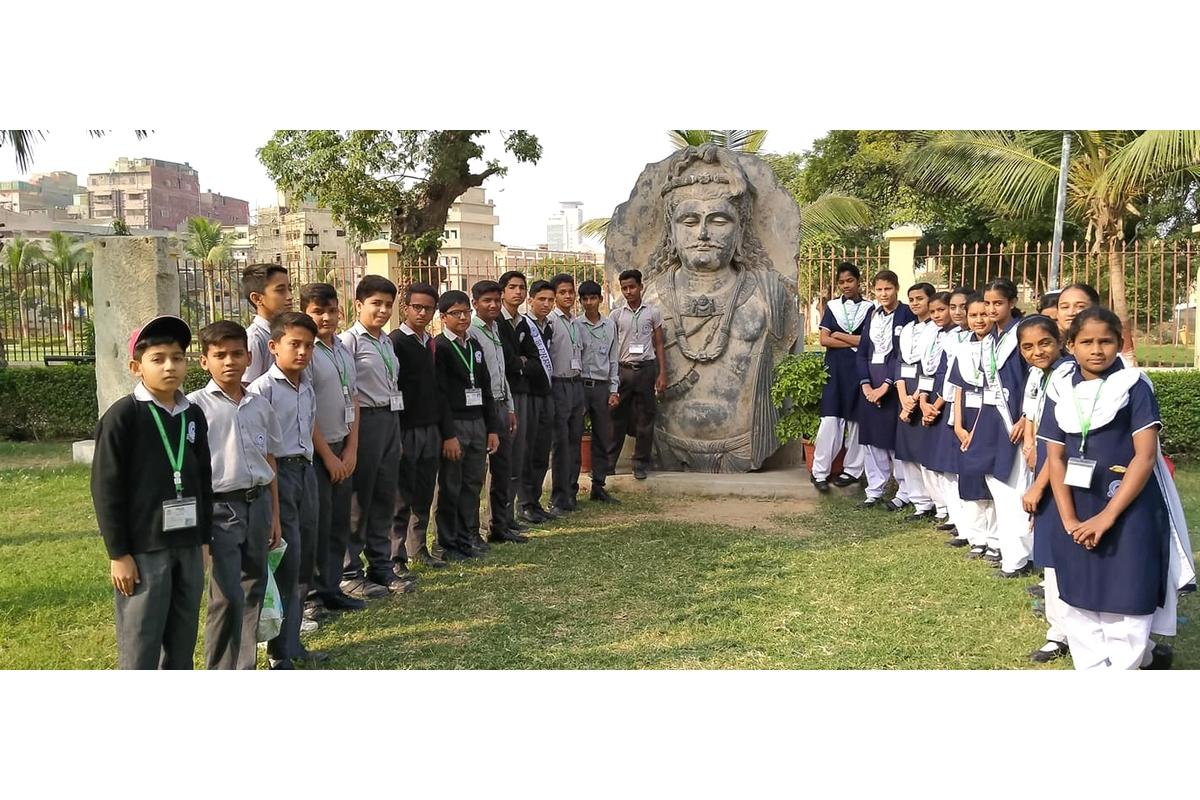 Visit of Class V & VI to National Museum